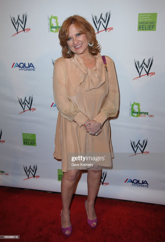 Caroline Manzo attends the Superstars For Sandy Relief at Cipriani Wall Street on April 4, 2013 in New York City.