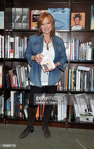 Caroline Manzo promotes the new book 'Let Me Tell You Something Real Housewife ToughLove Mother And Smart Businesswoman' at Barnes Noble Tribeca on...