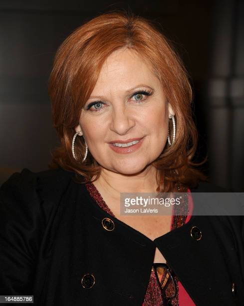 Caroline Manzo signs copies of her new book 'Let Me Tell You Something' at Barnes Noble bookstore at The Grove on March 28 2013 in Los Angeles...