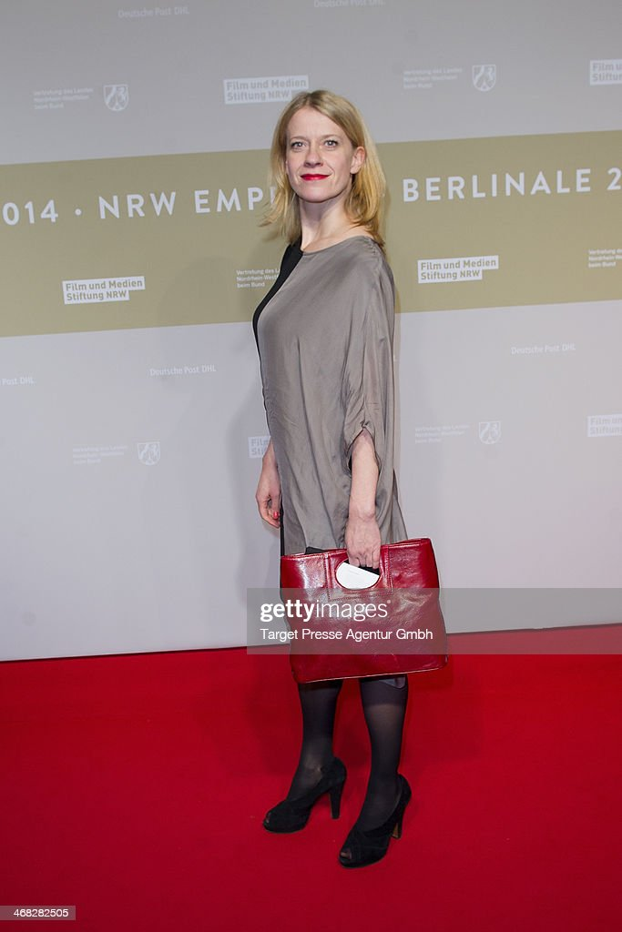 Caroline Peters attends the NRW Reception at the Landesvertretung on February 9, 2014 in Berlin, Germany.