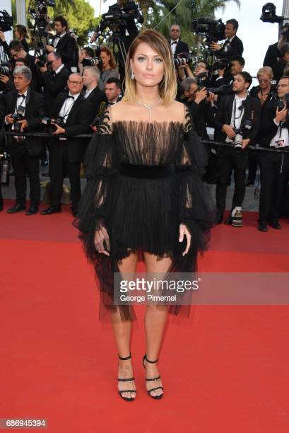 Caroline Receveur attends 'The Killing Of A Sacred Deer' screening during the 70th annual Cannes Film Festival at Palais des Festivals on May 22 2017...