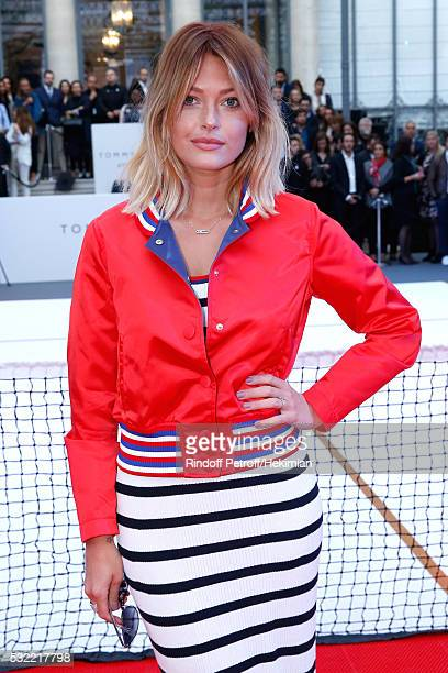 Caroline Receveur attends Tommy Hilfiger hosts Tommy X Nadal Party Photocall on May 18 2016 in Paris