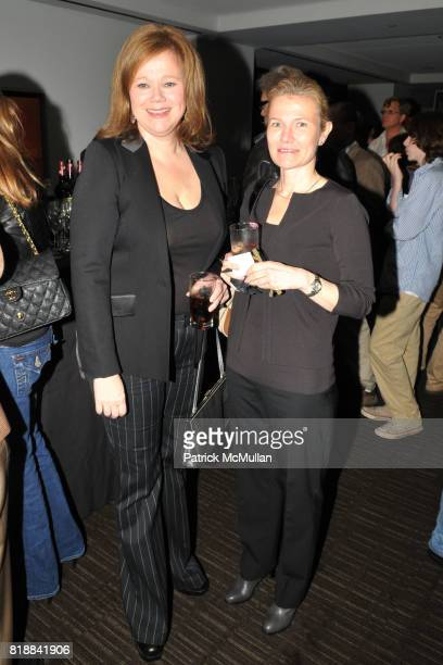 Caroline Rhea and Cynthia Rhea attend TIME INC Live and Unfiltered Presents ROUGH JUSTICE Hosted by FORTUNE at Time and Life Building Screening Room...