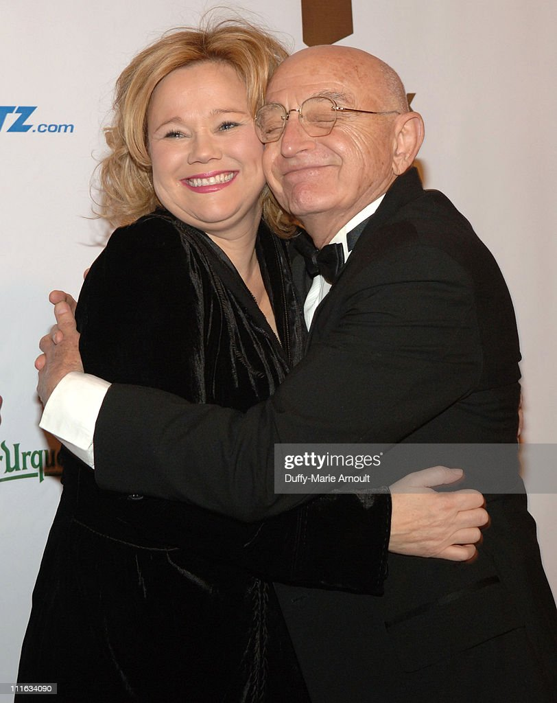 Caroline Rhea and Duane Michals during 4th Annual Lucie Awards at American Airlines Theatre in New York City, New York, United States.