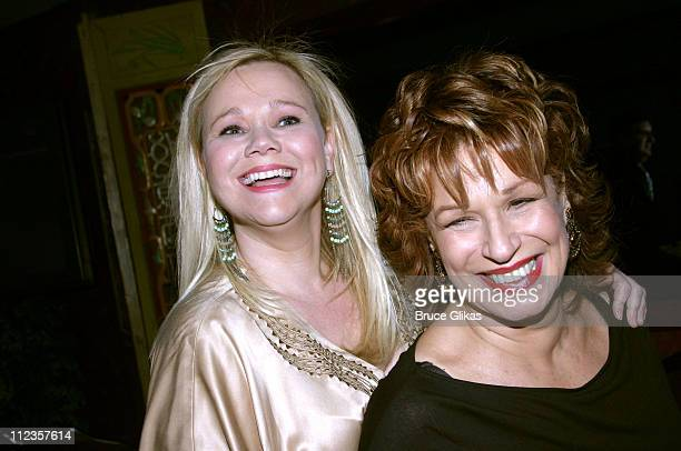 Caroline Rhea and Joy Behar during Whoopi Goldberg Opens in 'Whoopi' on Broadway Afterparty at The China Club in New York City New York United States