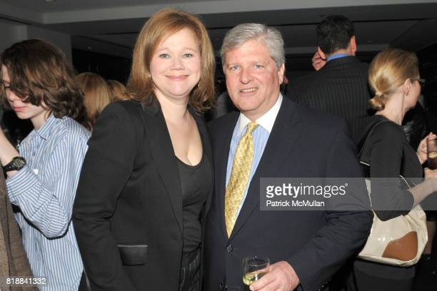 Caroline Rhea and Mason Speed Sexton attend TIME INC Live and Unfiltered Presents ROUGH JUSTICE Hosted by FORTUNE at Time and Life Building Screening...