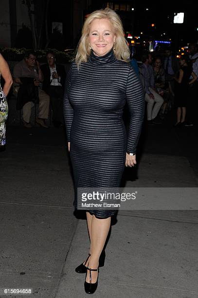 Caroline Rhea attends 'Love Love Love' OffBroadway Opening Night at Laura Pels Theatre on October 19 2016 in New York City