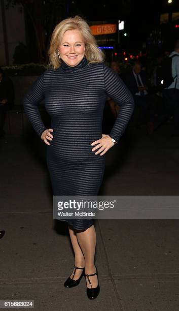 Caroline Rhea attends the OffBroadway Opening Night performance of 'Love Love Love' at the American Airlines Theatre on October 16 2016 in New York...