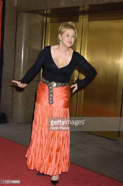 Caroline Rhea during 2005/2006 NBC UpFront Arrivals at Radio City Music Hall in New York City New York United States