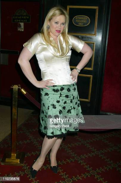 Caroline Rhea during 'Beyond The Sea' New York Premiere Arrivals at Ziegfield Theater in New York City New York United States