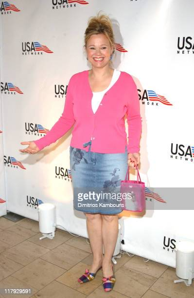 Caroline Rhea during USA Network Celebrates the Opening of the 2002 US Open at ACES Restaurant at the Arthur Ashe Stadium in Flushing Meadows New...
