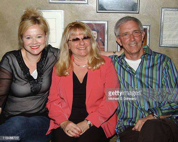 Caroline Rhea Ellaine TallasCardone the Ice House booker guest of honor and Fritz Coleman