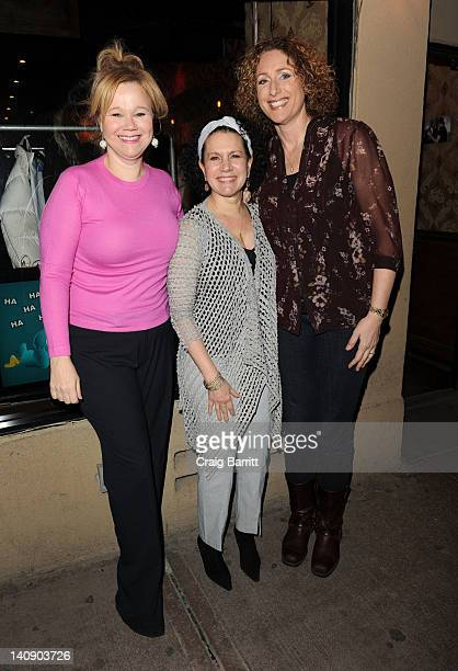 Caroline Rhea Susie Essman and Judy Gold attend Women And The Brain A Night Of Comedy at Stand Up New York on March 7 2012 in New York City