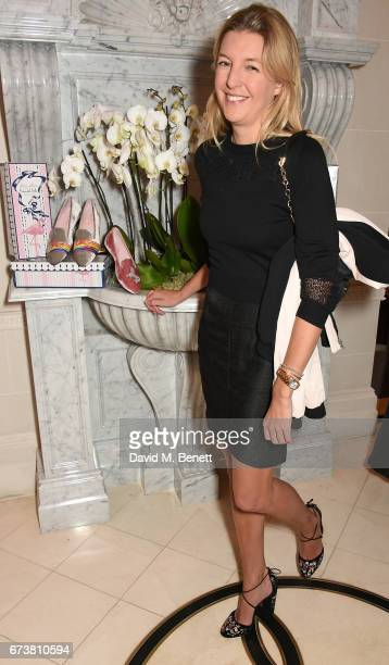 Caroline Rupert attends a VIP dinner celebrating Mrs Alice for French Sole at The Connaught Hotel on April 25 2017 in London England