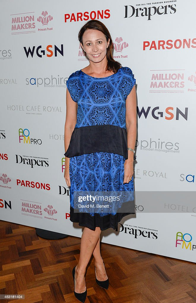 Caroline Rush attends the VIP charity event, which Drapers and WGSN Group, partnered with Parsons The New School for Design and the British Fashion Council to hold, in aid of the Prince's Trust Million Makers on August 4, 2014 in London, England. The event saw the launch the acclaimed book 'The School of Fashion: 30 Parsons Designers' by Simon Collins, Dean of Fashion at Parsons. The richly-illustrated volume explores the legacy of Parsons through the testimony of its brightest alumni, with interviews and sketches from Donna Karan, Alexander Wang, Jack McCullough and Lazaro Hernandez of Proenza Schouler, and many others.