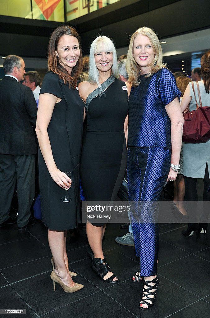 Caroline Rush, Susanne Tide-Frater and Lisa Gregg attend the Luxury Briefing Awards on June 11, 2013 in London, England.