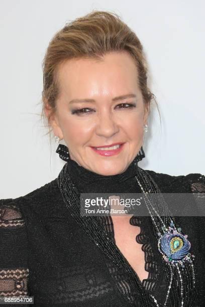 Caroline Scheufele arrives at the amfAR Gala Cannes 2017 at Hotel du CapEdenRoc on May 25 2017 in Cap d'Antibes France