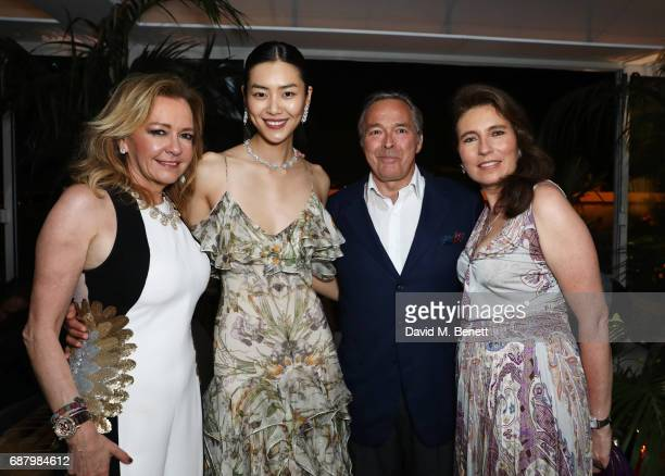 Caroline Scheufele Artistic Director and CoPresident of Chopard Liu Wen KarlFriedrich Scheufele CoPresident of Chopard and Christine Scheufele attend...