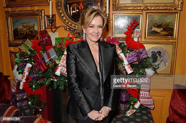 Caroline Scheufele Artistic Director and CoPresident of Chopard attend the Chopard Christmas Party at Annabel's on December 2 2014 in London England