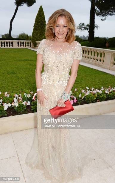 Caroline Scheufele attends amfAR's 21st Cinema Against AIDS Gala presented by WORLDVIEW BOLD FILMS and BVLGARI at Hotel du CapEdenRoc on May 22 2014...