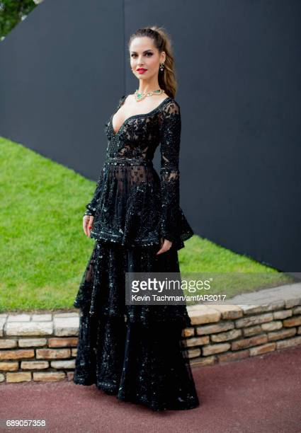 Caroline Scheufele attends the amfAR Gala Cannes 2017 at Hotel du CapEdenRoc on May 25 2017 in Cap d'Antibes France