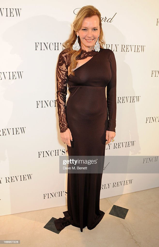 Caroline Scheufele attends the annual Finch's Quarterly Review Filmmakers Dinner hosted by Charles Finch, Caroline Scheufele and Nick Foulkes at Hotel Du Cap Eden Roc on May 17, 2013 in Antibes, France.