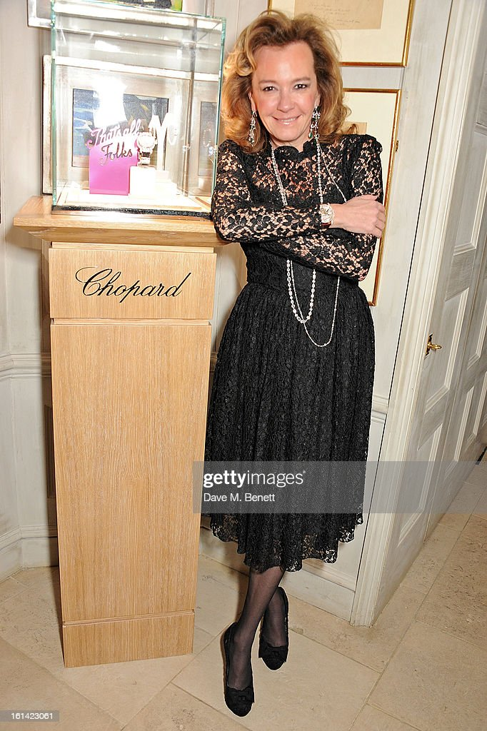 Caroline Scheufele attends The Weinstein Company and Entertainment Film Distributors Post-BAFTA Party hosted by Chopard and Grey Goose at LouLou's on February 10, 2013 in London, England.