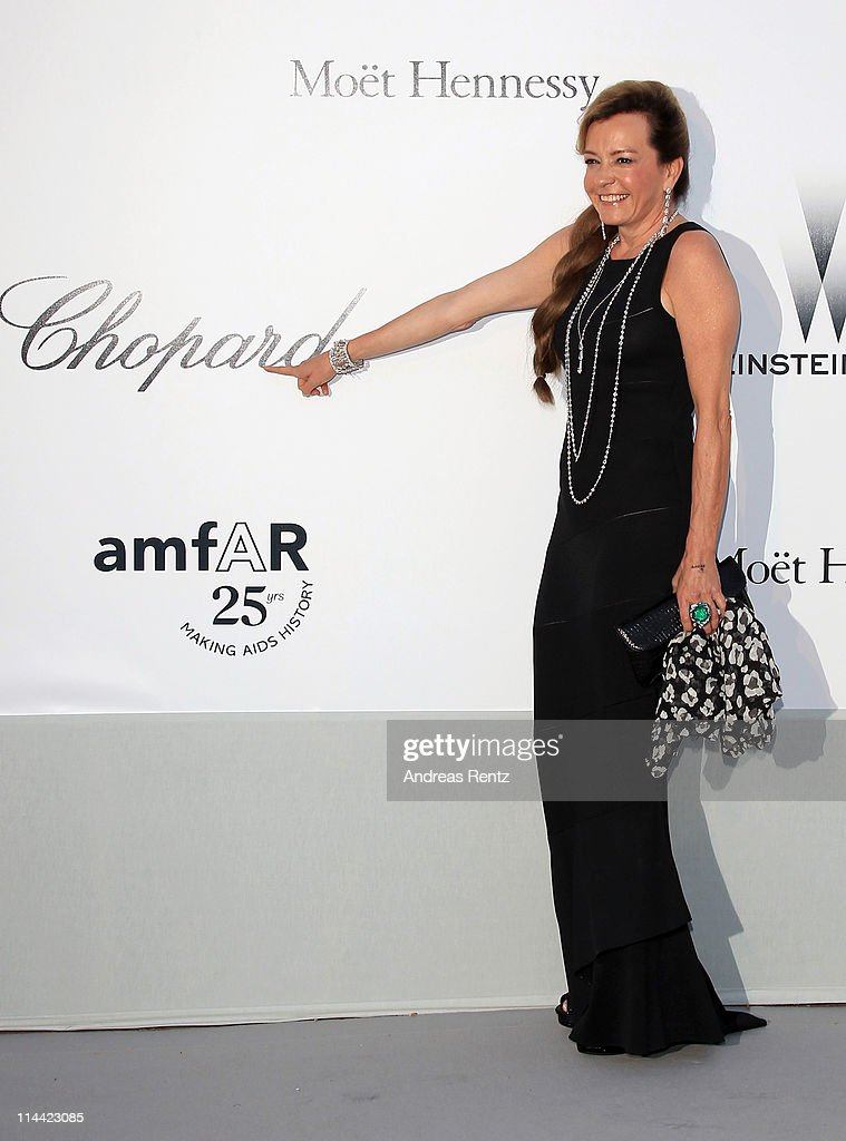 Caroline Scheufele, co-president of Chopard worldwide attends amfAR's Cinema Against AIDS Gala during the 64th Annual Cannes Film Festival at Hotel Du Cap on May 19, 2011 in Antibes, France.