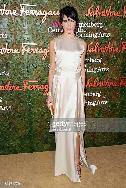 Caroline Sieber arrives at the Wallis Annenberg Center For Performing Arts Inaugural Gala at Wallis Annenberg Center for the Performing Arts on...