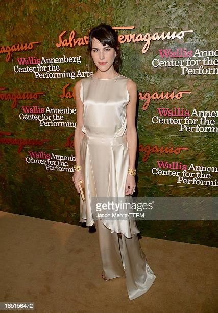 Caroline Sieber arrives at the Wallis Annenberg Center for the Performing Arts Inaugural Gala presented by Salvatore Ferragamo at the Wallis...