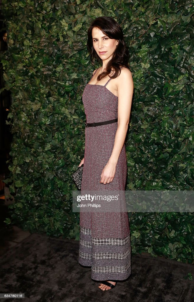 caroline-sieber-attends-a-pre-bafta-party-hosted-by-charles-finch-and-picture-id634780116