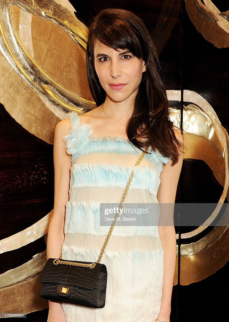 Caroline Sieber attends a private view of the new CHANEL flagship boutique on New Bond Street on June 10, 2013 in London, England.