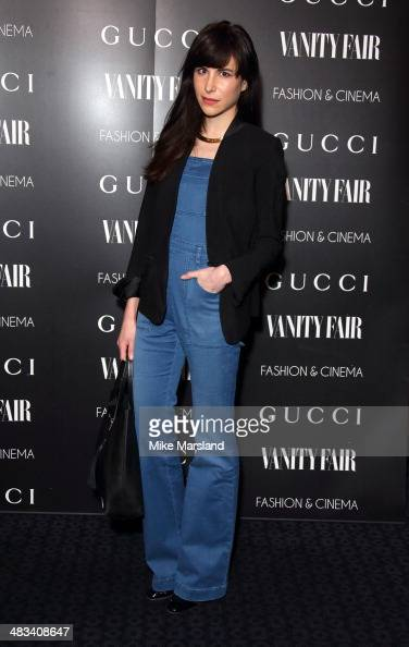 Caroline Sieber attends a special screening of 'Gucci And Vanity Fair The Director' at The Curzon Mayfair on April 8 2014 in London England