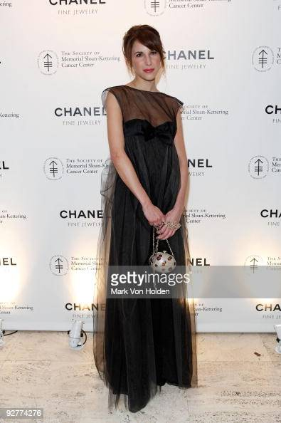 Caroline Sieber attends CHANEL's 'Fete d'Hiver' benefit for the Memorial SloanKettering Cancer Center at the Four Seasons Restaurant on November 4...