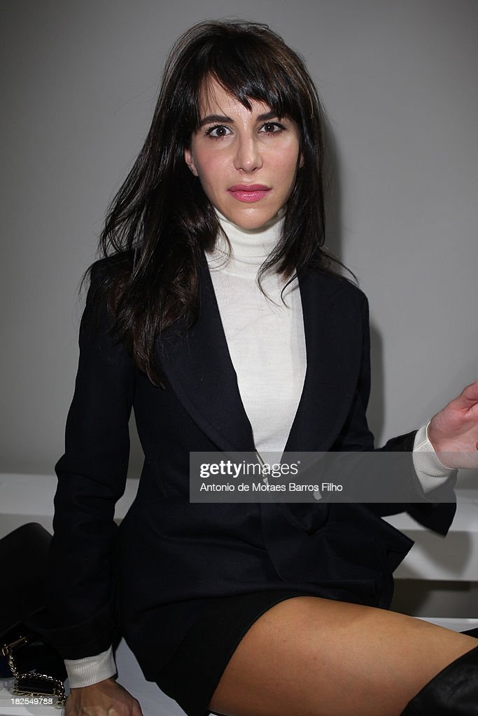 <a gi-track='captionPersonalityLinkClicked' href=/galleries/search?phrase=Caroline+Sieber&family=editorial&specificpeople=3364626 ng-click='$event.stopPropagation()'>Caroline Sieber</a> attends Giambattista Valli show as part of the Paris Fashion Week Womenswear Spring/Summer 2014 on September 30, 2013 in Paris, France.