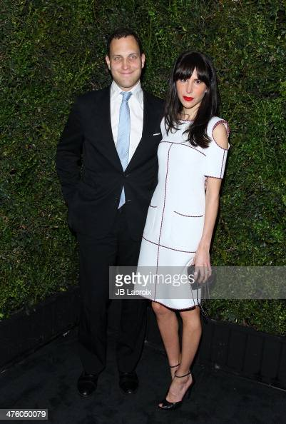 Caroline Sieber attends the Chanel Charles Finch PreOscar Dinner held at Madeo Restaurant on March 1 2014 in Los Angeles California
