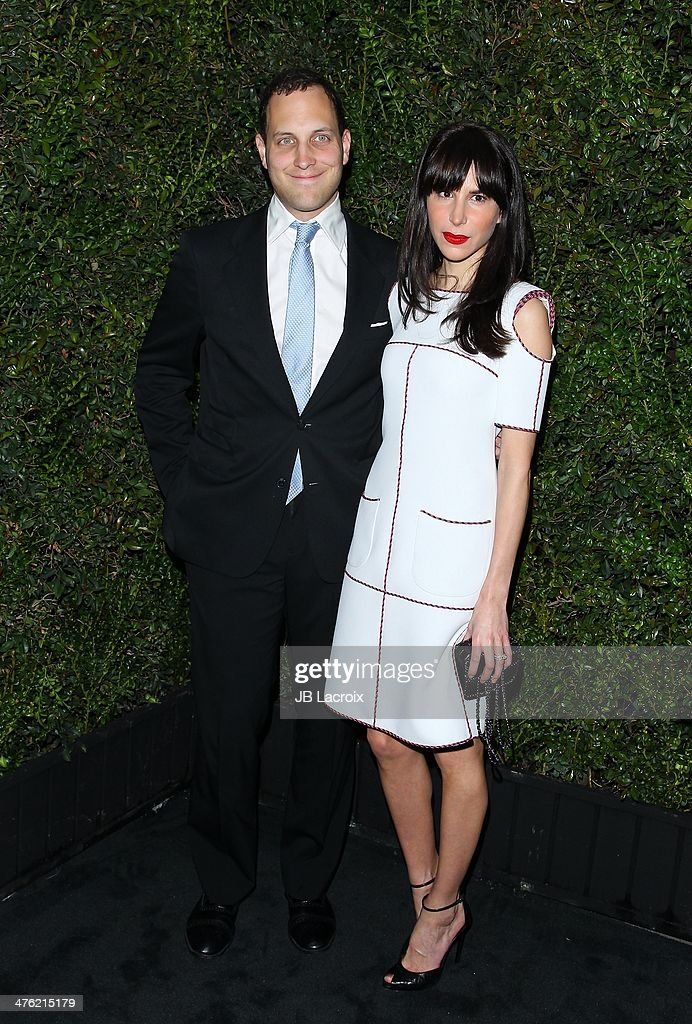 Caroline Sieber attends the Chanel Charles Finch Pre-Oscar Dinner held at Madeo Restaurant on March 1, 2014 in Los Angeles, California.