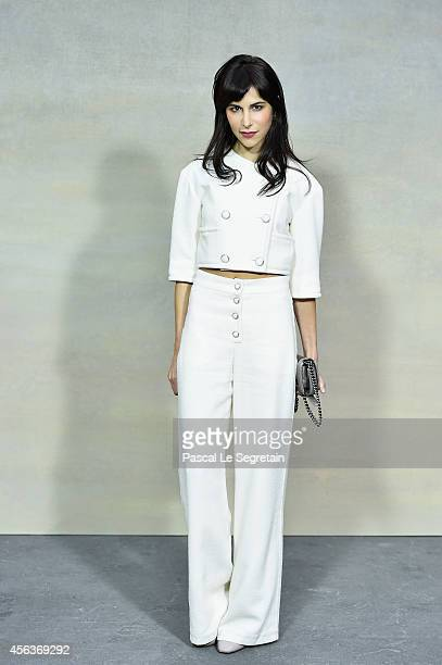 Caroline Sieber attends the Chanel show as part of the Paris Fashion Week Womenswear Spring/Summer 2015 on September 30 2014 in Paris France