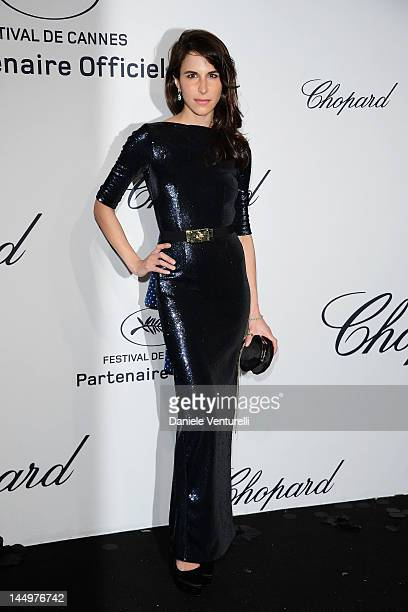 Caroline Sieber attends the Chopard Mystere Party during the 65th Annual Cannes Film Festival on May 21 2012 in Cannes France