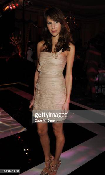 Caroline Sieber attends the Diane Von Furstenburg and Claridge's launch party at Claridge's on June 23 2010 in London England