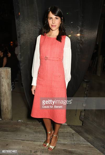 Caroline Sieber attends the Erdem show during London Fashion Week Spring/Summer collections 2017 on September 19 2016 in London United Kingdom