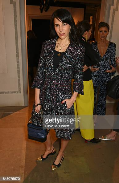 Caroline Sieber attends the ERDEM show during the London Fashion Week February 2017 collections at the Old Selfridges Hotel on February 20 2017 in...