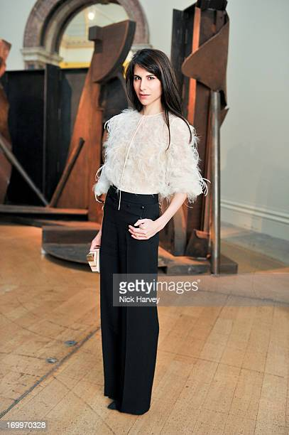 Caroline Sieber attends the preview party for The Royal Academy Of Arts Summer Exhibition 2013 at Royal Academy of Arts on June 5 2013 in London...