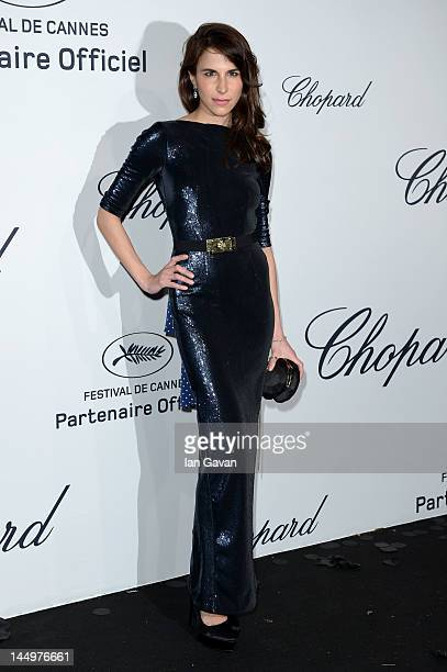 Caroline Sieber attends the Soiree Chopard 'Mystery Party' during the 65th Annual Cannes Film Festival on May 21 2012 in Cannes France