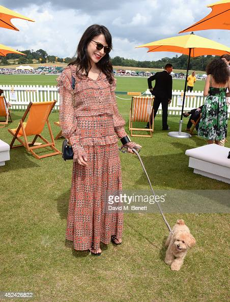 Caroline Sieber attends the Veuve Clicquot Gold Cup Final at Cowdray Park Polo Club on July 20 2014 in Midhurst England
