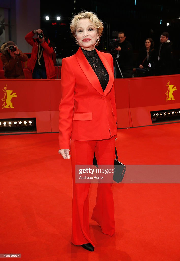 Caroline Sihol attends the 'Life of Riley' (Aimer, boire et chanter) premiere during 64th Berlinale International Film Festival at Berlinale Palast on February 10, 2014 in Berlin, Germany.