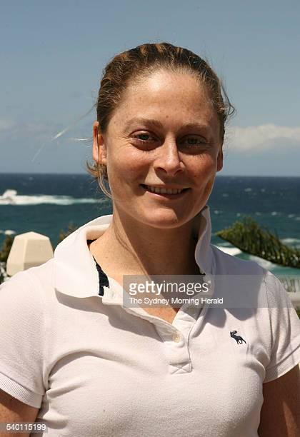 Caroline Smith at Bondi Beach Sydney 28 October 2006 SMH Picture by JACKY GHOSSEIN