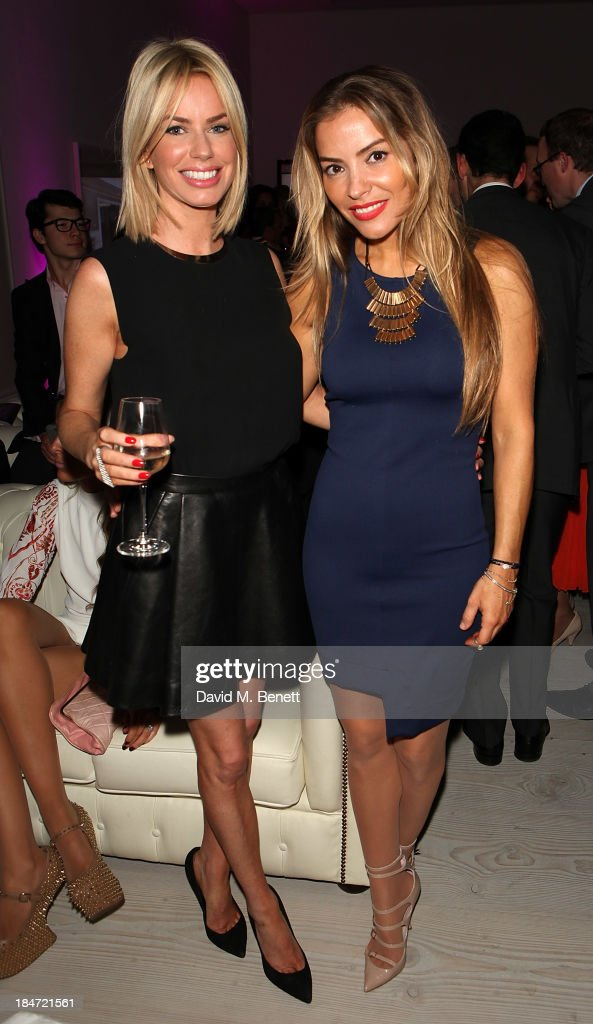 <a gi-track='captionPersonalityLinkClicked' href=/galleries/search?phrase=Caroline+Stanbury&family=editorial&specificpeople=204747 ng-click='$event.stopPropagation()'>Caroline Stanbury</a> and <a gi-track='captionPersonalityLinkClicked' href=/galleries/search?phrase=Elen+Rivas&family=editorial&specificpeople=490973 ng-click='$event.stopPropagation()'>Elen Rivas</a> attend the Candy Magazine Autumn/Winter 2013 launch party, featuring the Candy GPS report, at Saatchi Gallery on October 15, 2013 in London, England.