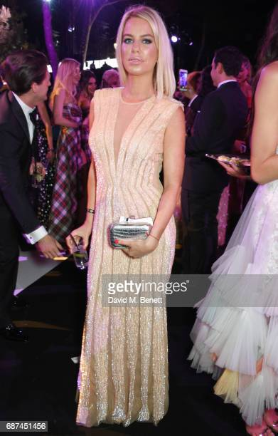 Caroline Stanbury attends the de Grisogono 'Love On The Rocks' party during the 70th annual Cannes Film Festival at Hotel du CapEdenRoc on May 23...