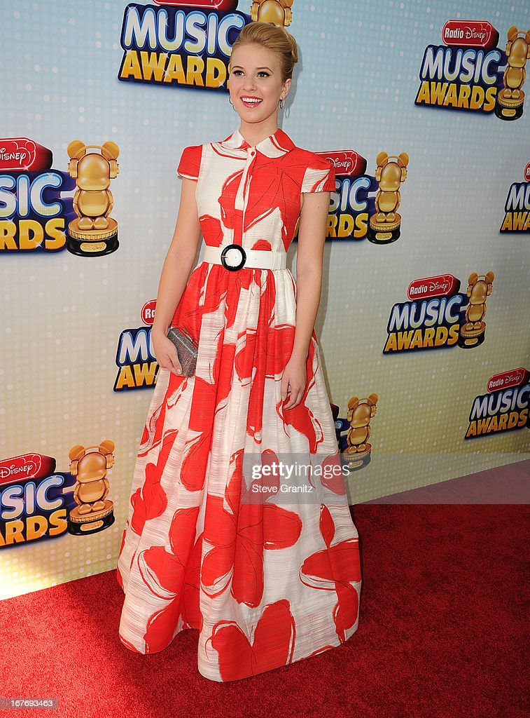 Caroline Sunshine arrives at the 2013 Radio Disney Music Awards at Nokia Theatre L.A. Live on April 27, 2013 in Los Angeles, California.